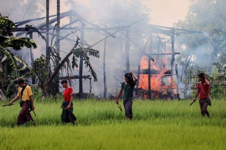 rohingya villages
