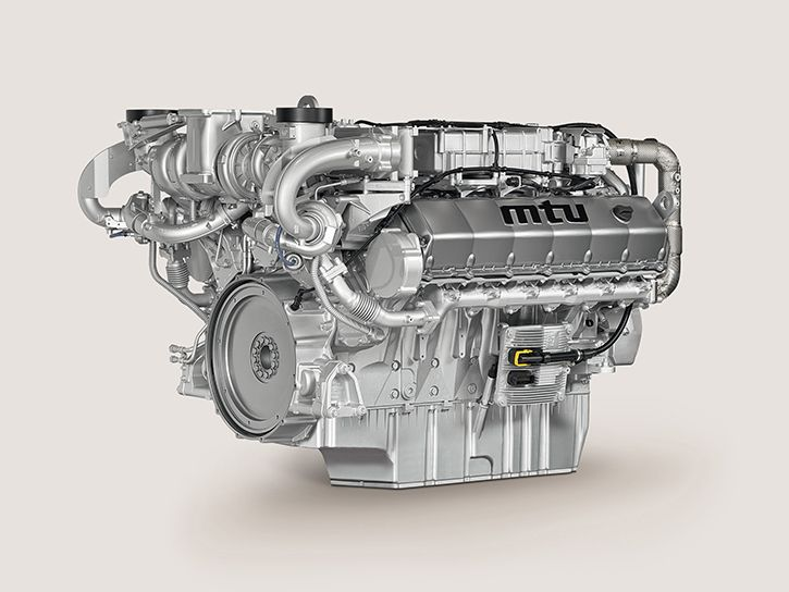 Rolls Royce MTU engine