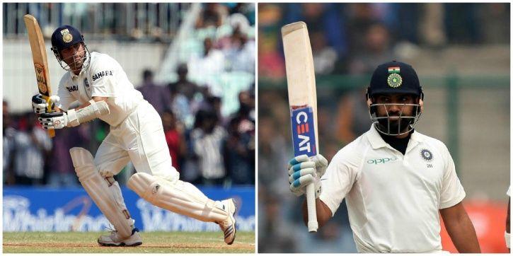 Sachin Tendulkar made 74 in his final Test innings