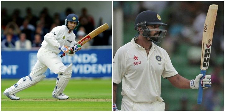 Sourav Ganguly made a duck in his last Test innings