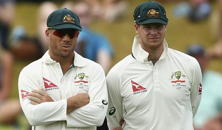 Steve Smith and David Warner stepped down for the remainder of the Cape Town