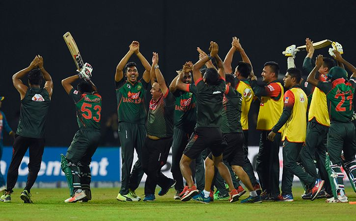 The controversy that erupted during the last over of the Bangladesh innings against Sri Lanka in a m