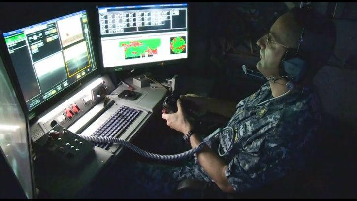 US Navy Xbox controller on submarine