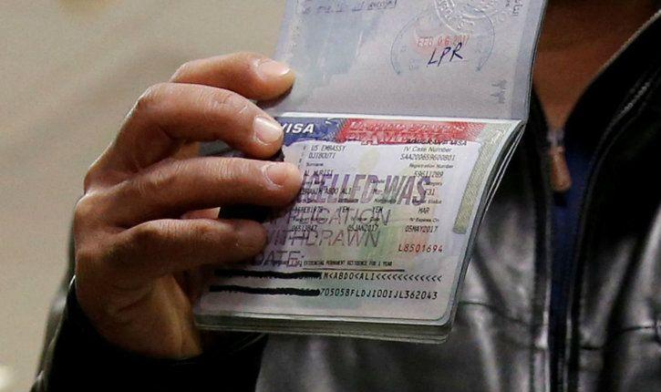 US visa application