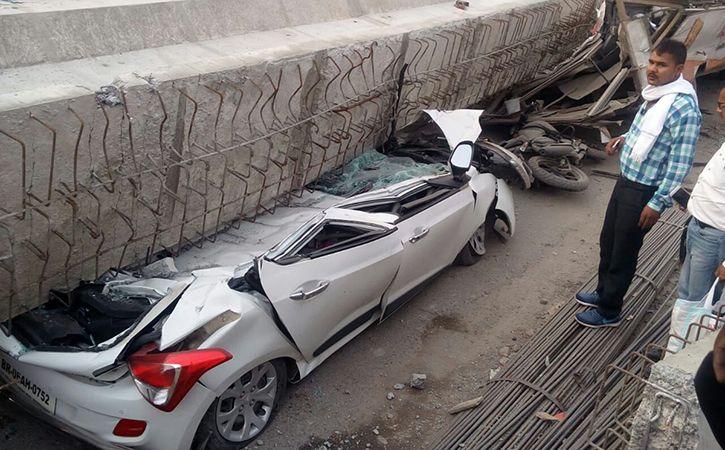 12 Dead In Flyover Collapse In Varanasi