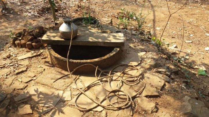 70-Year-Old Digs A Well