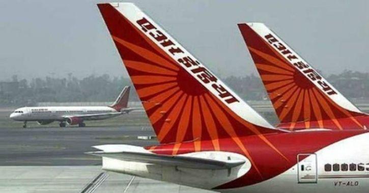 A passenger flight