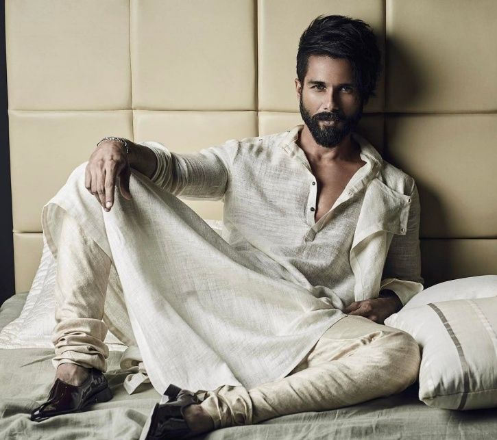A picture of Bollywood actor Shahid Kapoor who has been called desi Thor.