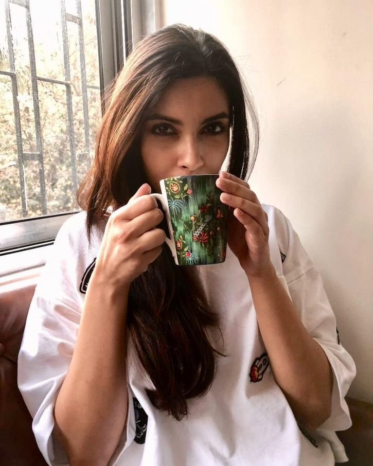 A picture of Bollywood actress Diana Penty.