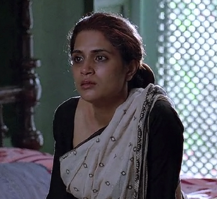A picture of Bollywood actress Richa Chadha Gangs of Wasseypur.