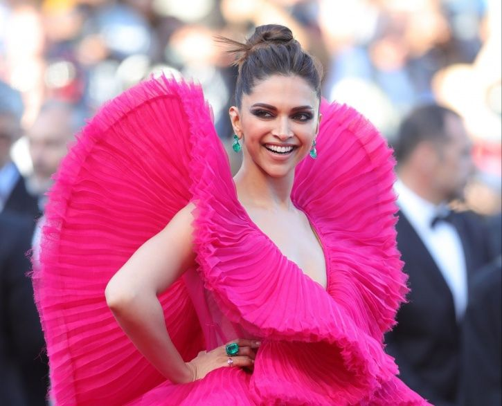 A picture of Deepika Padukone from Cannes Film Festival 2018.