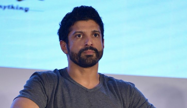A picture of Farhan Akhtar who recently expressed his opinion on how petrol prices can be brought do