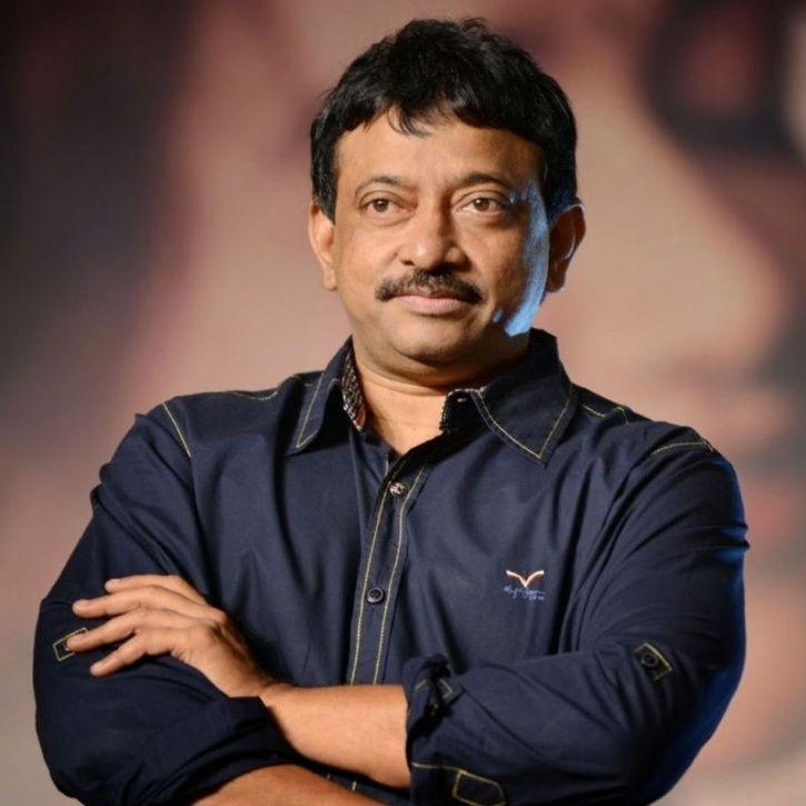A picture of filmmaker Ram Gopal Varma.
