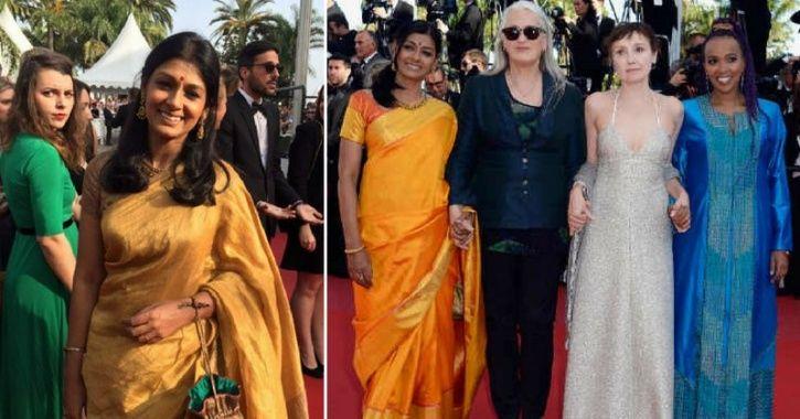 A picture of Nandita Das at Cannes Film Festival 2014.