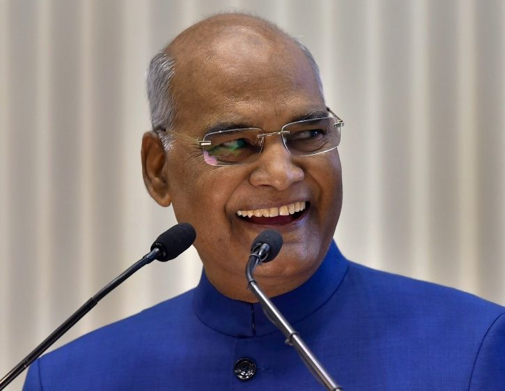 A picture of President Ram Nath Kovind