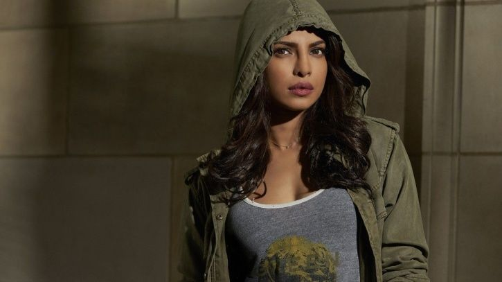 A picture of Priyanka Chopra from her show Quantico.