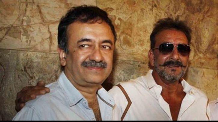 A picture of Rajkumar Hirani and Sanjay Dutt
