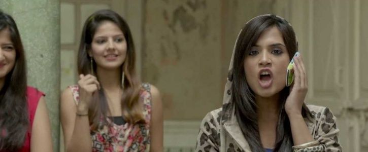 A picture of Richa Chadha as Bholi Punjaban in Fukrey.