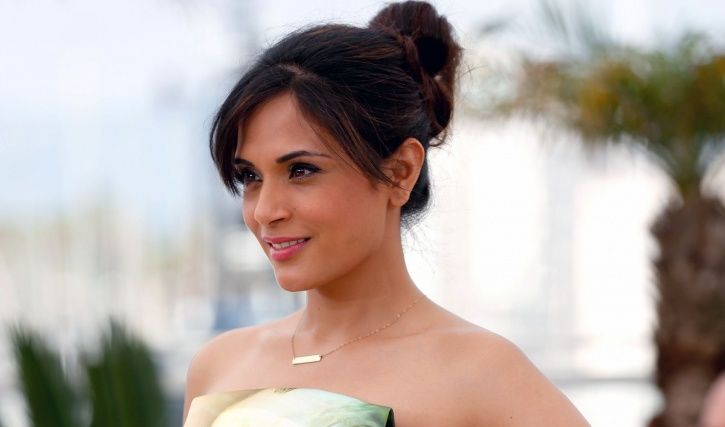 A picture of Richa Chadha at Cannes 2018.