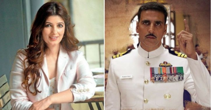 A picture of Twinkle Khanna who is embroiled in the Rustom costume auction controversy.