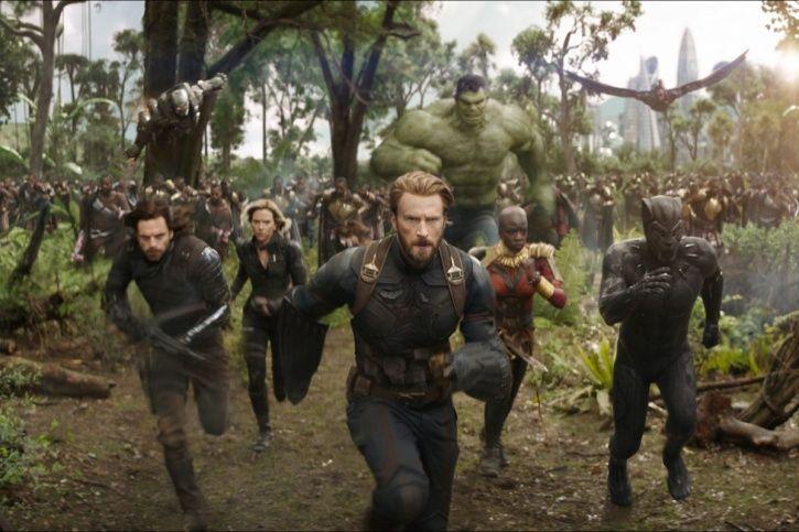A still from Avengers: Infinity War.
