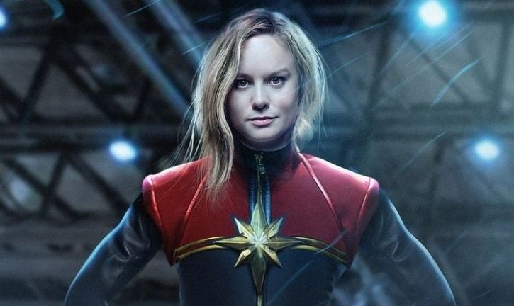A still from MArvel film Captain Marvel.