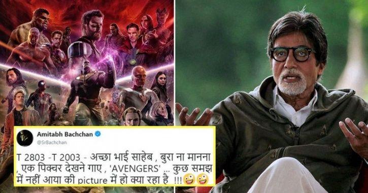 Amitabh Bachchan watched Avengers Infinity war