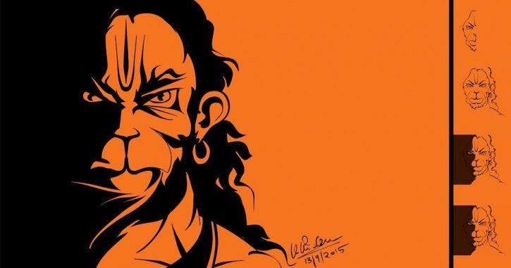 Angry Hanuman