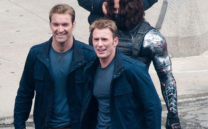 Avengers With Their Stunt Doubles2