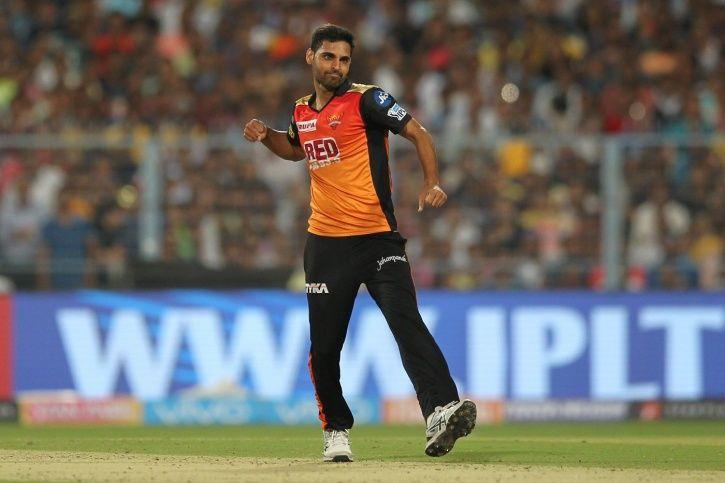 Bhuvneshwar Kumar gave away just 6 runs in the final over.