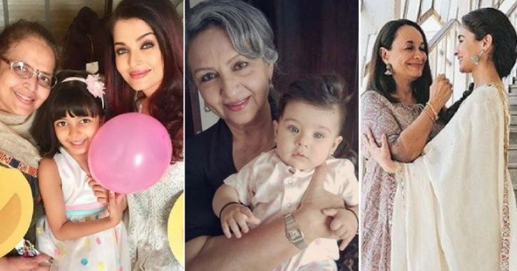 Bollywood celebrities with Mother