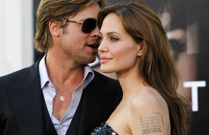 Brad Pitt and Agelina Jolie