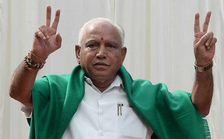 BS Yeddyurappa resigned on Saturday as Karnataka chief minister