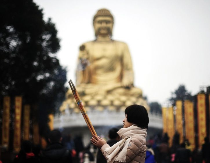 buddha statue china