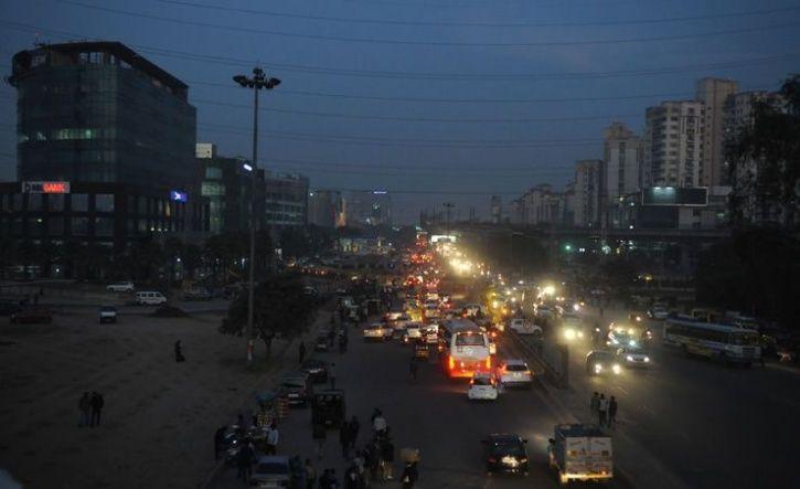 Bustling Gurgaon