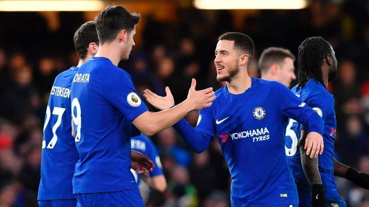 Chelsea defeated Manchester United 1-0