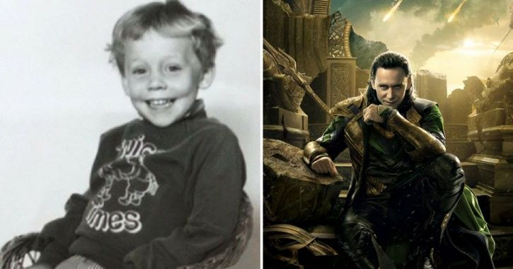 Childhood pictures of avengers cast.