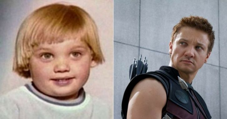 Childhood pictures of Avengers cast Hawkeye