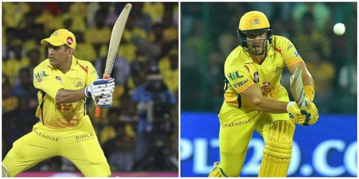 CSK had 7 players over 30 in their side