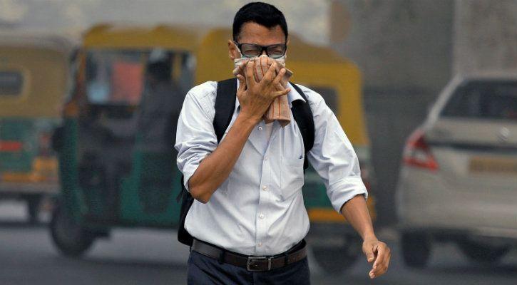 Delhi is choking
