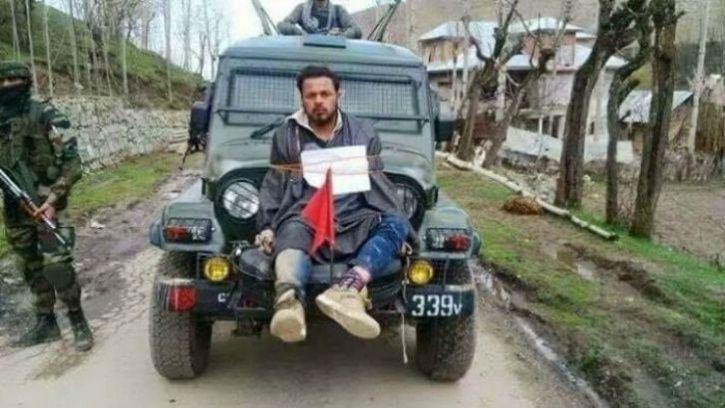 Detention Of Human Shield Fame Major Gogoi By J&K Police