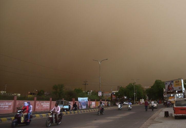 Dust Storm Rajasthan