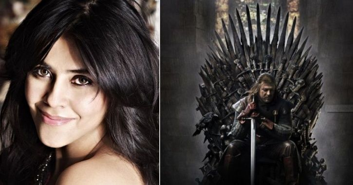 Ekta Kapoor Is Making A Desi Version Of Game Of Thrones & We Don't Know Whether To Laugh Or To Cry