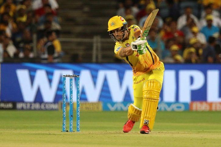 Faf du Plessis slammed 67 not out