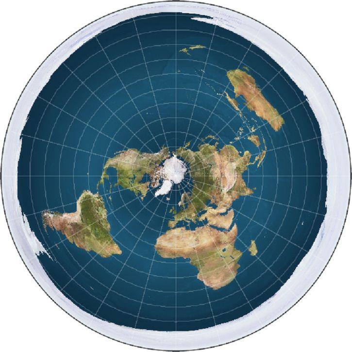 Flat-earth theory