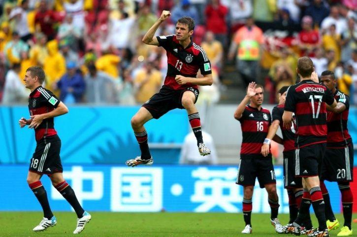Germany won 7-1