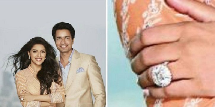 Ghajini actress Asin was gifted Rs 6 crore ring by her husband and Micromax founder Rahul Sharma.