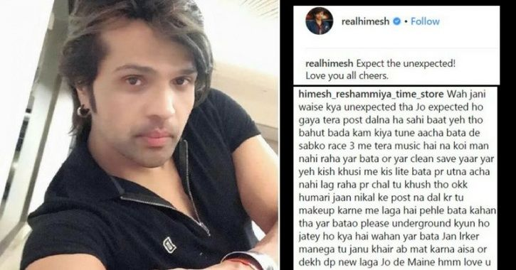 Himesh's Instagram Account Is So Savage That It'll Remind You Of Your Self-Obsessed Friend