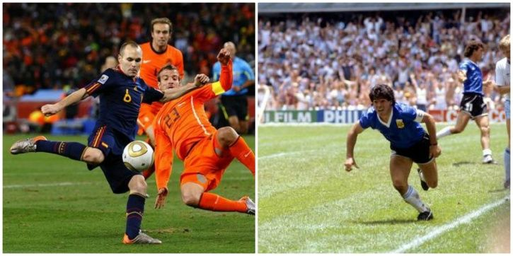 Iconic moments of the FIFA World Cup