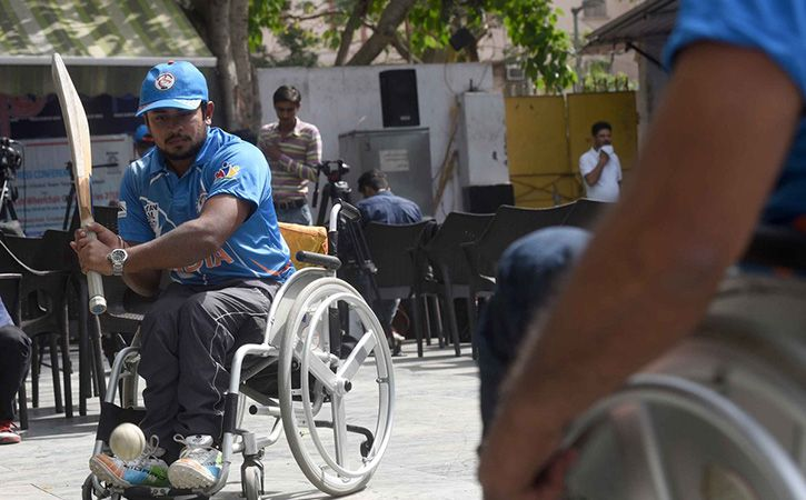 Indian Wheelchair Cricket Team Spreads Wings